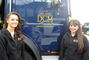 Diman duo design new logo for Fall River's Department of Community Maintenance fleet