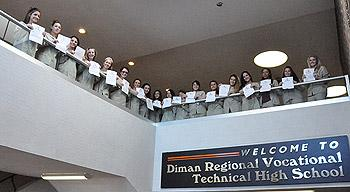 Diman Dental Assisting students perfect on second national exam