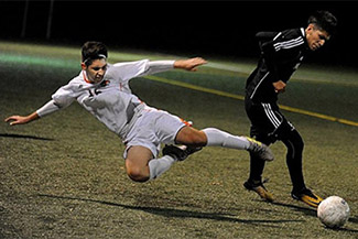 Boys' soccer advances to State Voke final
