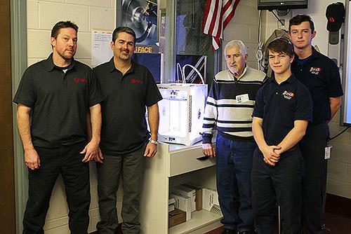 fall river company donates 3 d printer to diman s machine tool rh dimanregional org