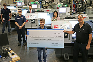 Diman thankful for HAAS donations
