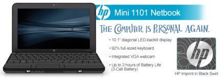 Mini 1101 Netbook