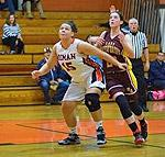 Diman's Mataya Blakney (15) is taking her game to the next level.